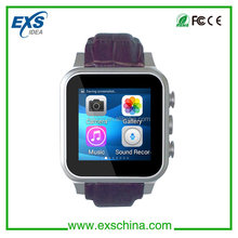 Genuine wrist band smart watch android dual sim watch mobile phone with 3g function