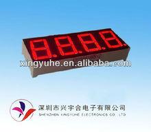 High brightness 4 digit 7 segment led digital display