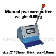 Wholesale pvc card cutter