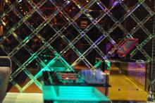 ktv mirror for decoration, karaoke wall decor, nightclub mirror wall
