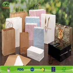 decorative paper craft shopping bag