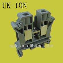 UK type din rail terminal block UK-10N