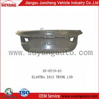 Car trunk lid hot selling used on Hyundai elantra 2012