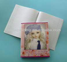 child activity writing book