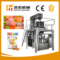 Advanced full automatic candy packaging machine