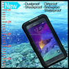 Universal Waterproof Mobile Case Cover Skin for Samsung note 2 3 4