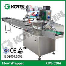 Bakery Machinery Horizontal Flow Pillow Packing Equipment For Bagel Modified Atmosphere Packaging Machine