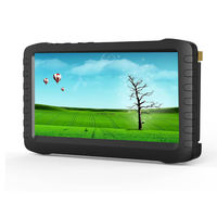"""TE968H Factory price 5.8ghz wireless FPV monitor lcd DVR recorder 5"""" HD screen,motion detect,AV out"""