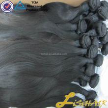 Tangle Free Factory Stock Unprocessed Black Wholesale Virgin Malaysian Hair