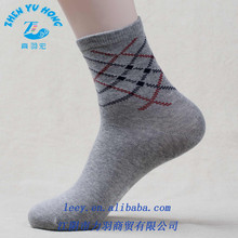Collant per uomo, foderato in pile calze, tartan plaid progettazione customed