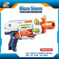 Battery operated airsoft rifle for sale/abs plastic nerf gun toy airsoft rifle/top soft dart gun airsoft rifle factory direct