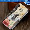 Nuevo diseño de accesorio del teléfono celular para el iphone caso 5, para el iphone 5 caso de cartera