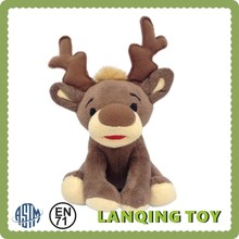Cute Doll Plush Deer Toy for Christmas 2015