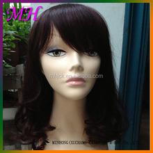 High Quality 100% Virgin Human Hair Wig Women hair toupees