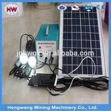 Mini solar generator 300W portable solar power