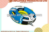 PVC infatable water ski towable tubes inflatable water tube EN71 approved