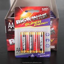 1.5V alkaline best prices batteries aa battery