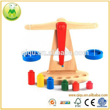 Juguetes educativos enseñanza péndulo niños de juguete de madera equilibrio