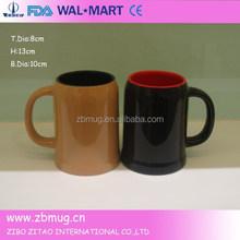 500ml ceramic beer mug creative products 2015