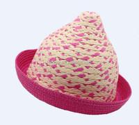 Madagascar Raffia hats for girls , raffia straw hats