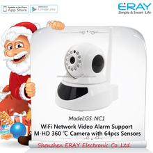WIFI alarm IP camera motion sensor