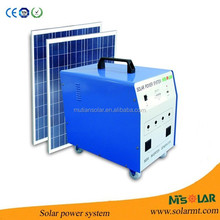Small solar generator for portable solar energy products