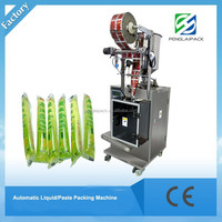 fast speed small sachet stick plastic bag packing machine for liquid and paste