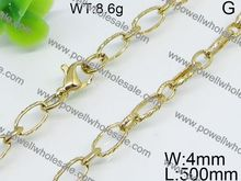 jewelry display stainless steel bold popcorn-link 30 inch mirror necklace chain