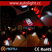 LED Car door courtesy Welcome laser projector Logo Ghost Shadow Light For Q3 Q5 Q7