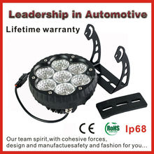 Lifetime warranty Cree 70W Led Driving Lights Round 7 Inch For Off Road with cree chips