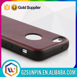 More protective pu material leather cell phone case
