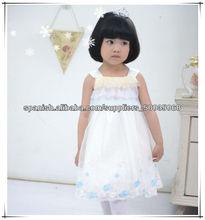 de la moda de una pieza de las niñas vestidos de fiesta para niñas de 3 años de edad