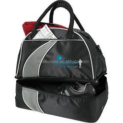 Custom nylon bulk extreme golf club duffel bag