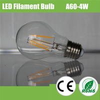 Ceramic/Sapphire Substrate A60 6W led filament light/led filament bulb/led filament lamp