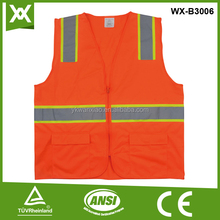 factory custom distinctive security vest with pocket