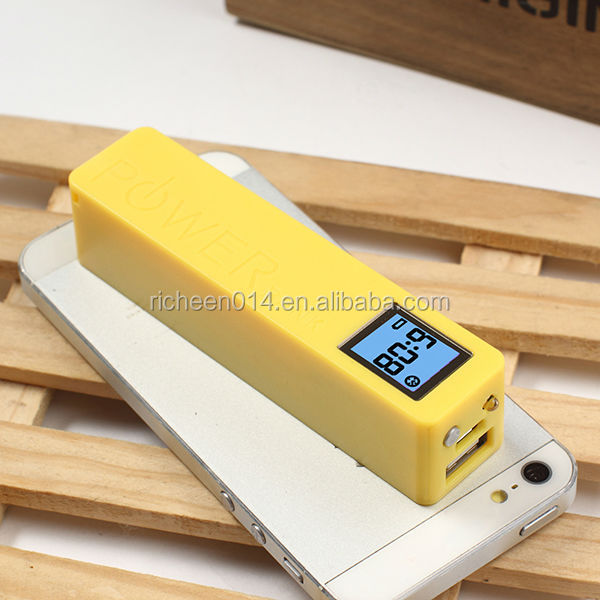 alibaba express Mobile power supply with led lights