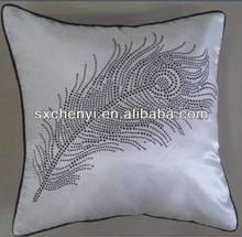 2014 New fashion square sofa cushion with heating beads CY48