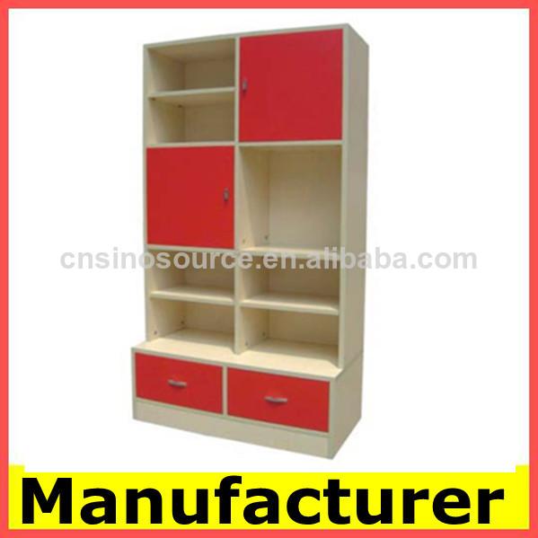 El dise o moderno de madera librer as estanter as del - Estanterias diseno para libros ...