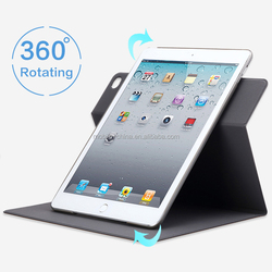 Premium super slim 360 rotary leather case cover for iPad mini4 with sleeping function