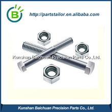 Custom aluminum screw plus aluminum screw cap BCS 068