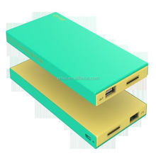 modern real capacity 8000 mah huge capacity usb power bank for Cellphon iPhone iPad and More Devices