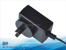 4.5v 5v 6v 9v 12v 24v power adapter plug with CE/UL/CUL/FCC/PSE/GS/SAA certificates
