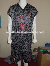 Seco en forma de malla de aire de luz el peso personalizado uniformes de baloncesto/universidad de baloncesto uniforme para