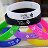 design/size/logo/color custom silicon bracelet,personalized silicon bracelet,cheap silicone bracelets no minimum
