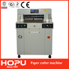 HOPU program paper cutter cheap paper core cutting machine