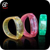 Best Friend Birthday Promotional Gift Fashion Acrylic Led Bracelets