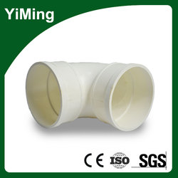 YiMing PVC Pipe Fittings/ UPVC Elbow 45 Degree in Low Price