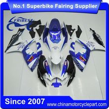 FFGSU003 Motorcycle ABS Fairing Kit For GSX R750 GSXR750 GSX R600 GSXR600 2006 2007 Blue Corona