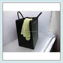 folding felt hotel laundry bags with handle wholesale