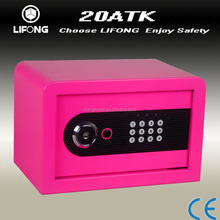 8 colors stationary digital safety box for optional